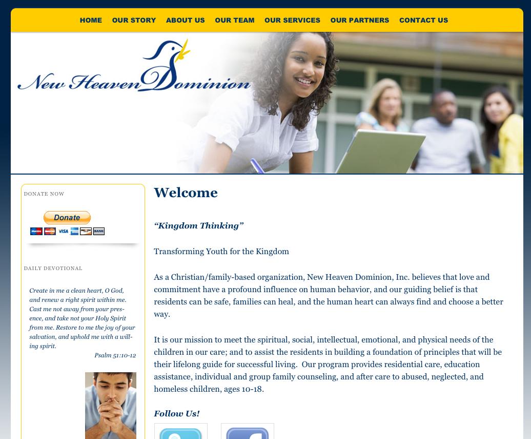 New Heaven Website