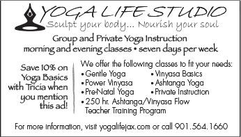 Yoga Life Ad