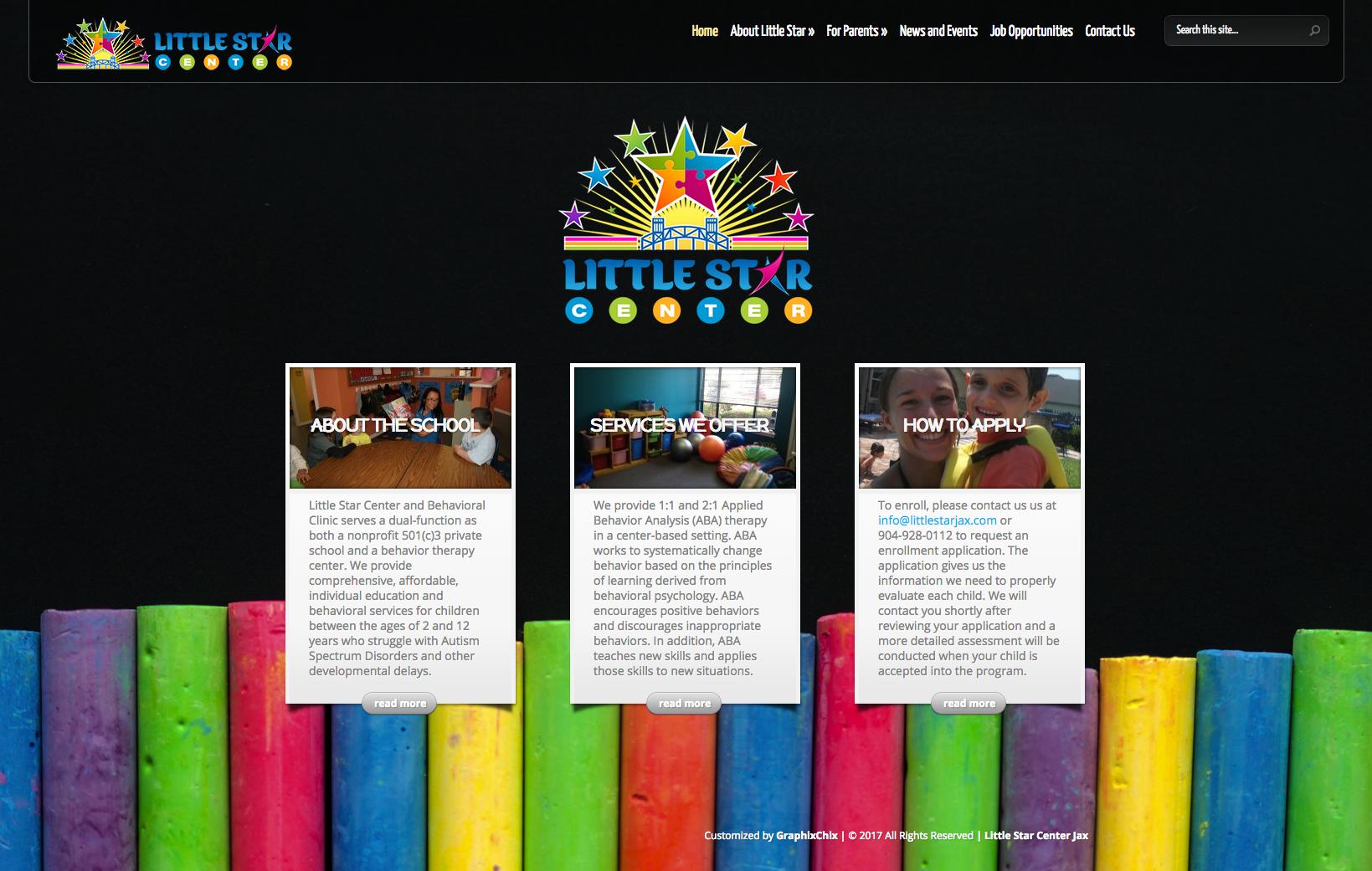 Little Star Website | 2015 Update