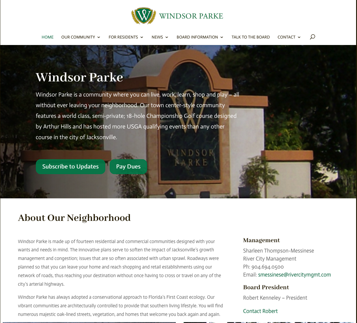 Windsor Parke HOA