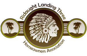 Ridaught Landing Three HOA Logo