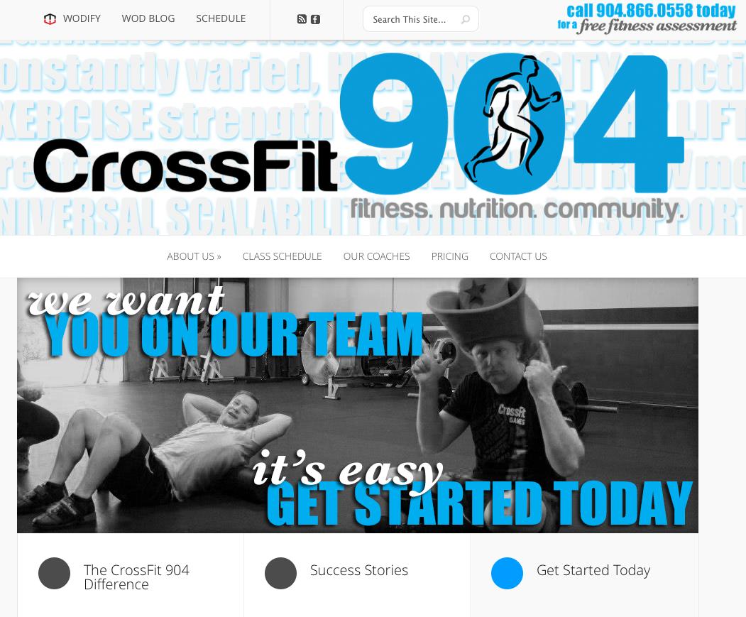 CrossFit 904 | Original Website