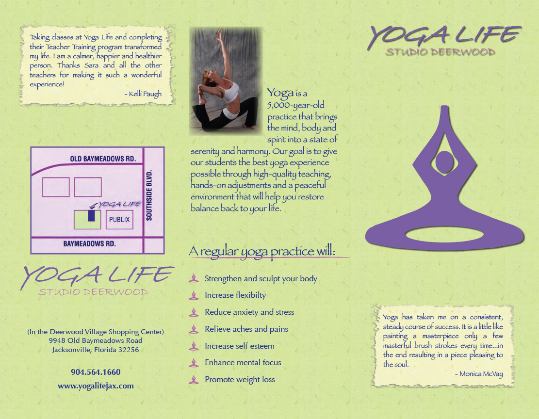 Yoga Life Brochure