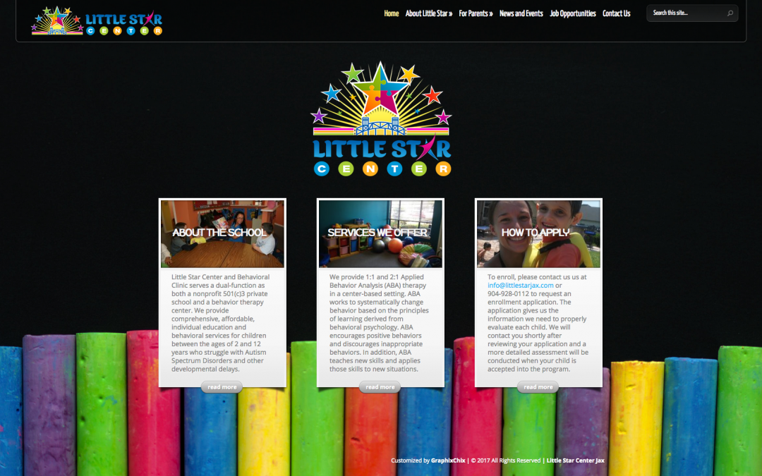 Little Star Center of Jacksonville: Website