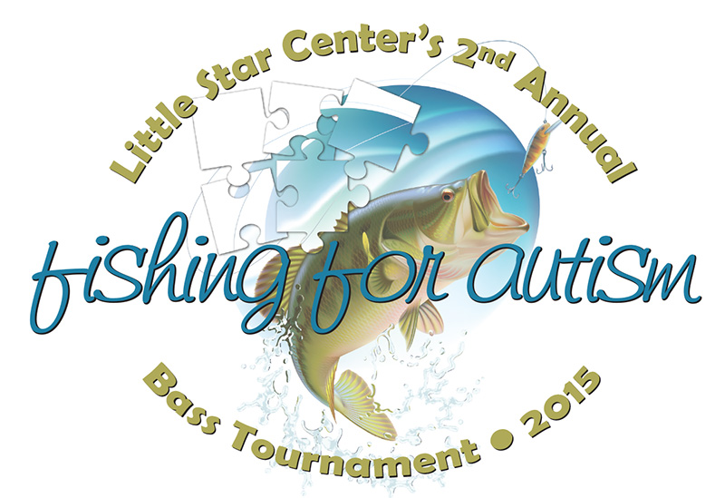 2015 Little Star Bass Tournament Logo