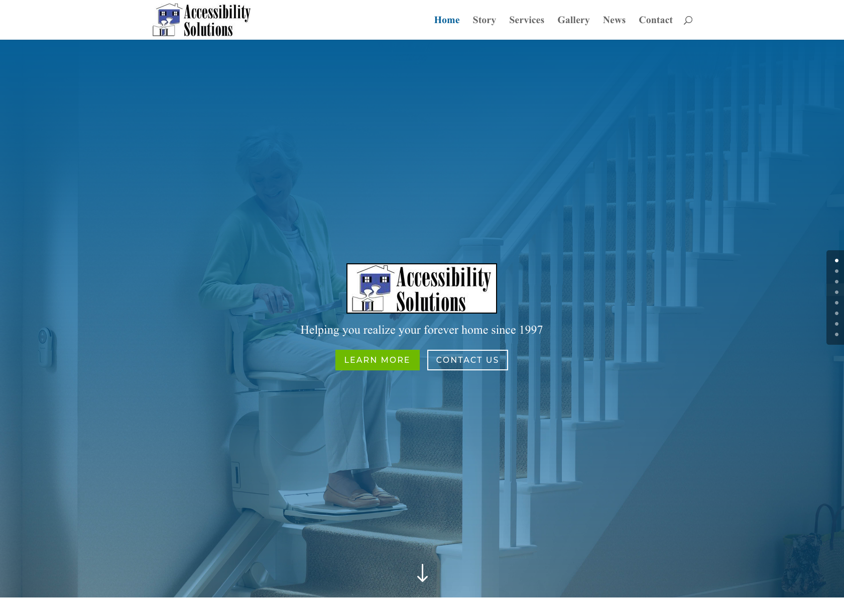 Accessibility Solutions website